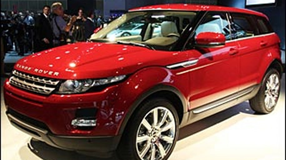 2012 Range Rover Evoque Five-Door