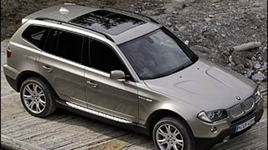 Midsize SUVs: BMW X3