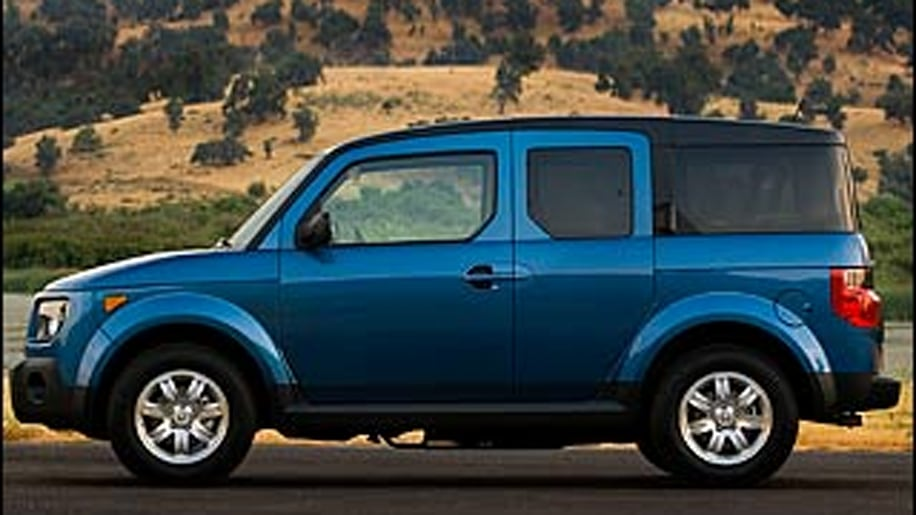 Small SUVs: Honda Element