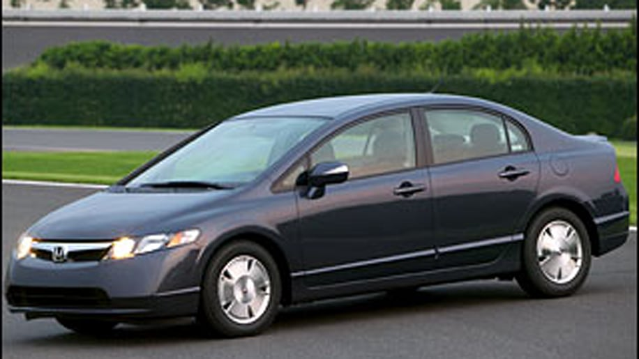 2. Honda Civic Hybrid