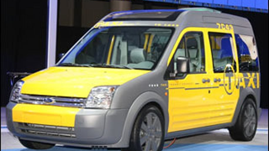 Transit Connect Taxi Concept