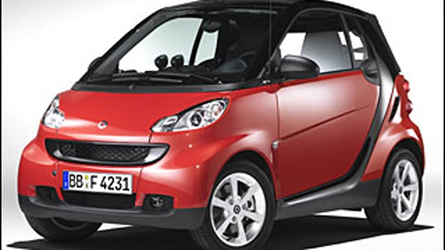 3. 2008 smart fortwo