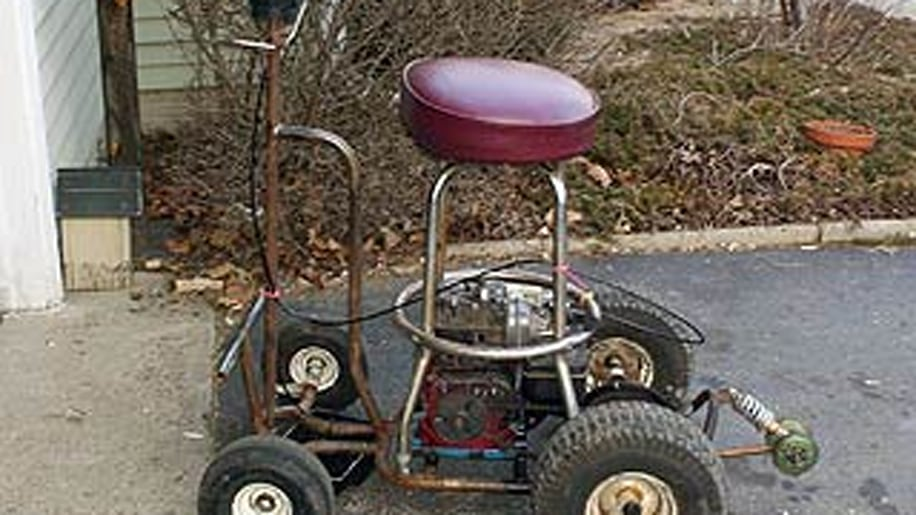 Motorized bar stool from DUI case fetches $1,125
