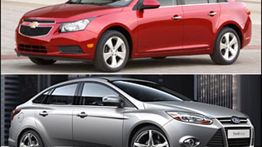 Meet The New Chevy Cruze and Ford Focus