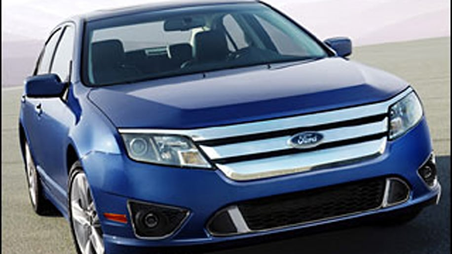 4. Ford Fusion
