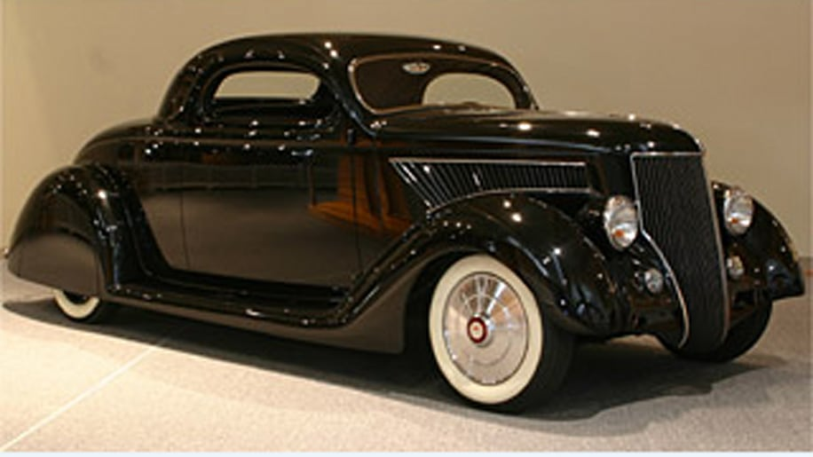 Kirk Hammet's '36 Ford Coupe