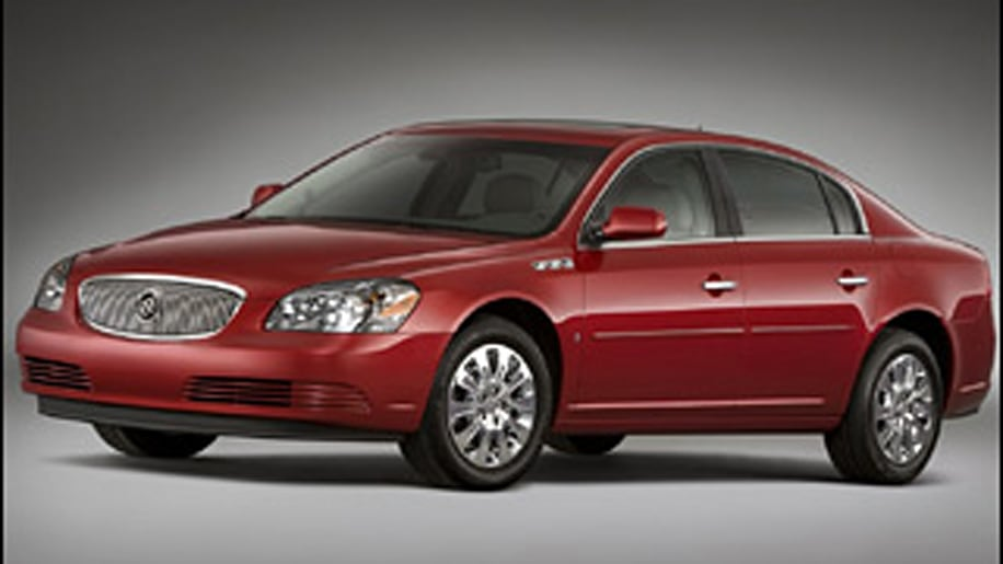 #1 (tied) Least Ticketed: 2009 Buick Lucerne