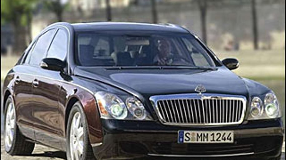 Maybach 57 and 62