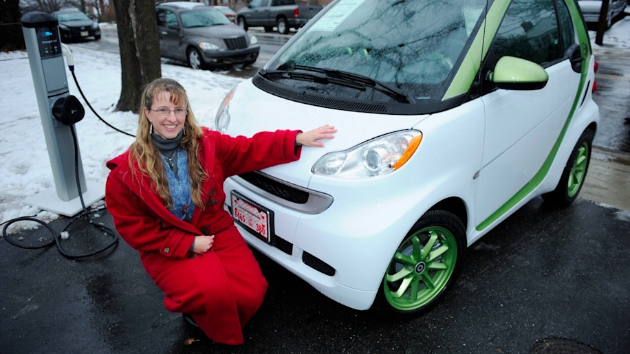 First Smart Fortwo Electric Delivery