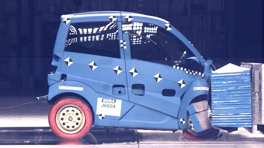 Gordon Murray Design T.27 crash testing