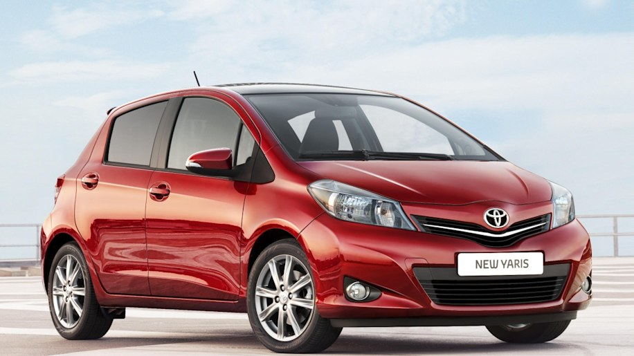 2012 Toyota Yaris UK