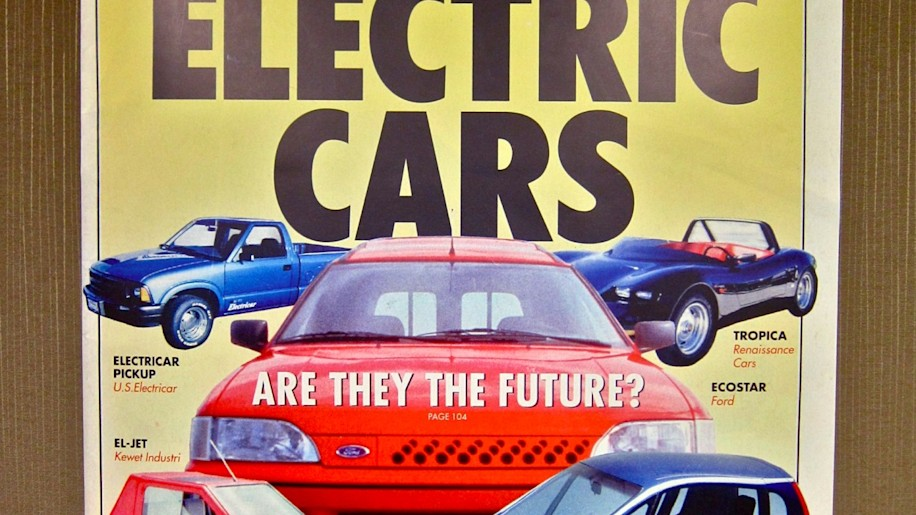 BusinessWeek electric cars are they the future cover