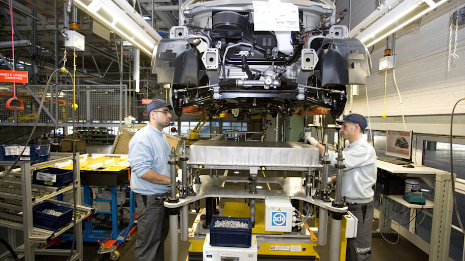 Smart Fortwo Electric Drive Production