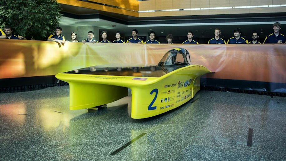 U of M Generation solar car