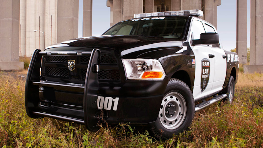 Ram Special Services Police Truck