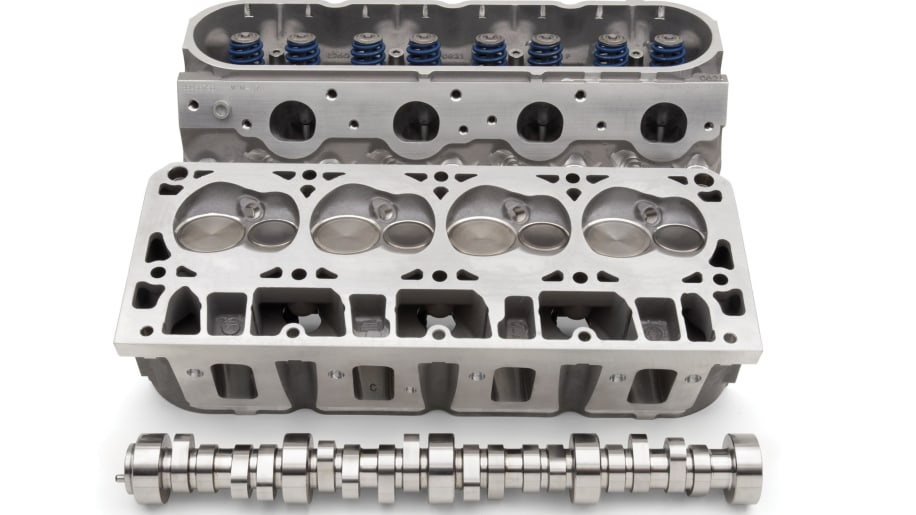 Chevrolet Performance LS3 Performance Cylinder Head And LS7 Camshaft