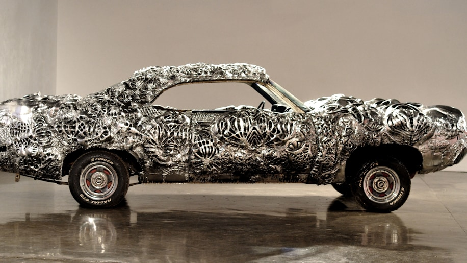 This Is What A 3dprinted Liquid Metal Ford Torino Looks Like