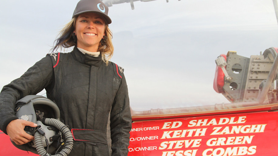 List host Jessi Combs hits 440 mph, becomes World's Fastest Woman On Four Wheels [w/videos]