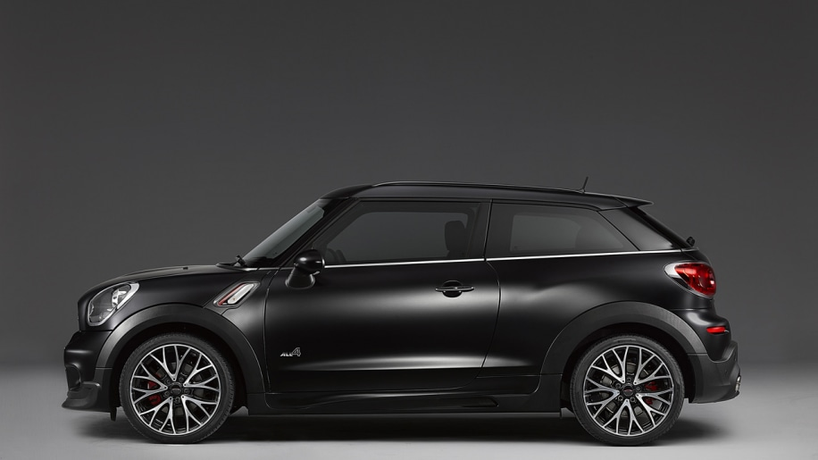 Mini officially reveals Frozen Black Countryman and Paceman  Autoblog