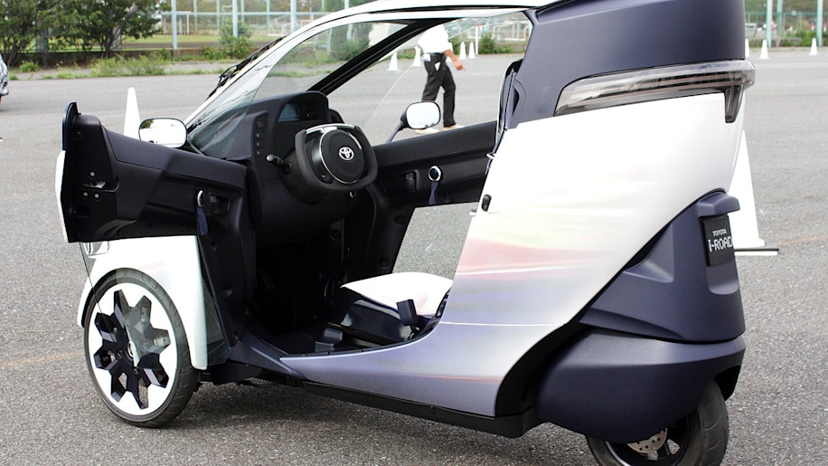 Japanese  Wheel Electric Car