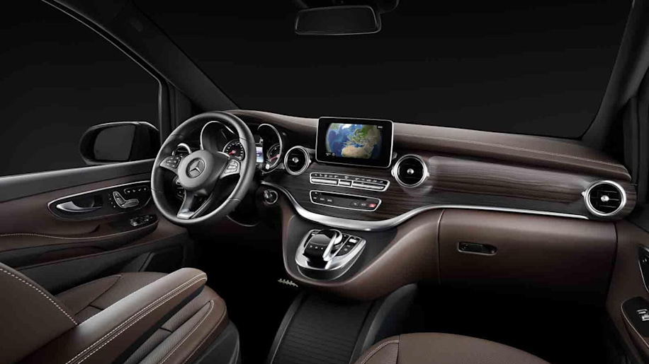 Mercedes reveals interior of upcoming new V-Class