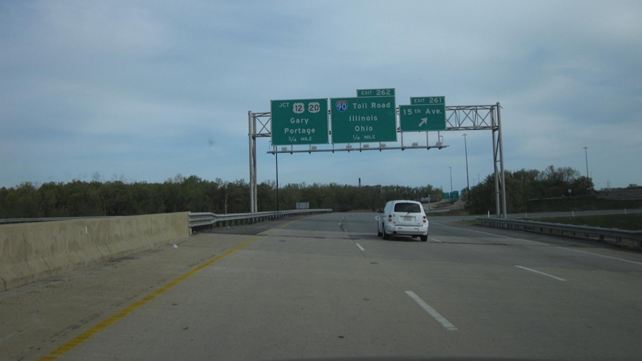 Pete Bigelow (Associate Editor, AOL Autos): I-80 Through Gary, Ind.