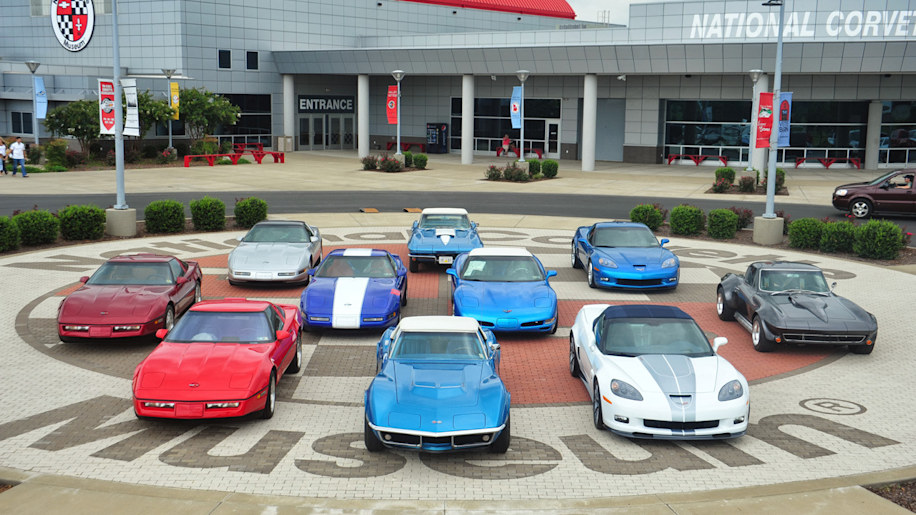 The National Corvette Museum uses brand heritage tourism