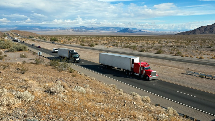Michael Harley (West Coast Editor, Autoblog): I-15 Between Las Vegas And Los Angeles