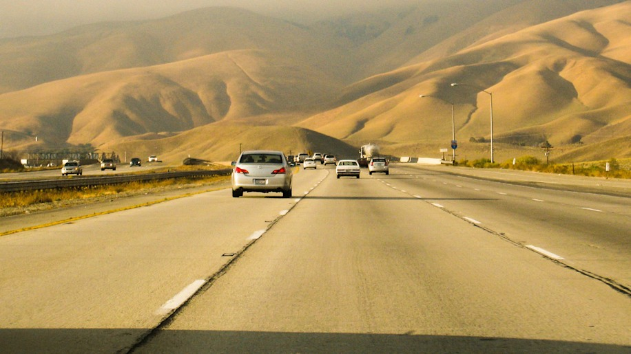 Michael Zak (Consumer Editor, AOL Autos): I-5 Between San Francisco And Los Angeles