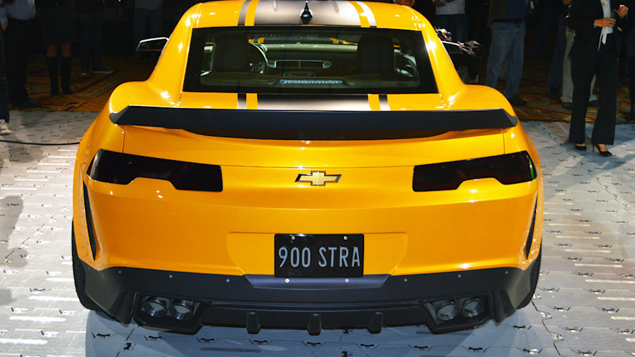chevy brings bumblebee new transformers 4 corvette and sonic to sema autoblog. Black Bedroom Furniture Sets. Home Design Ideas