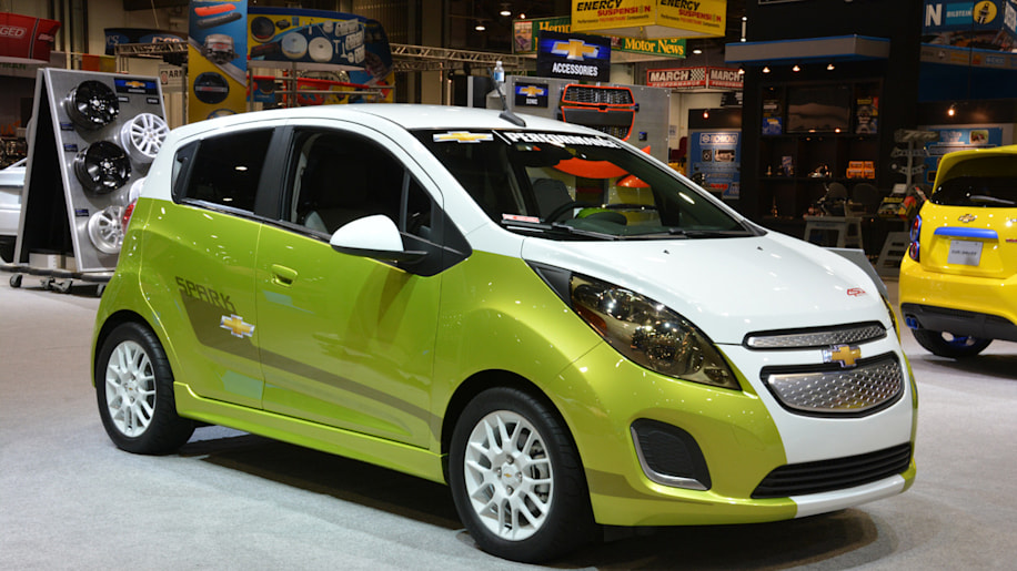 Chevy Spark EV Tech Performance flaunts 450 lbft and twotone