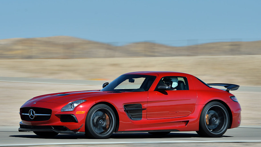 2014 MercedesBenz SLS AMG Black Series wvideo  Autoblog