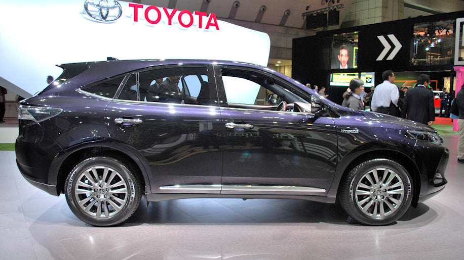 Toyota Harrier gets a whale of a facelift wvideo  Autoblog