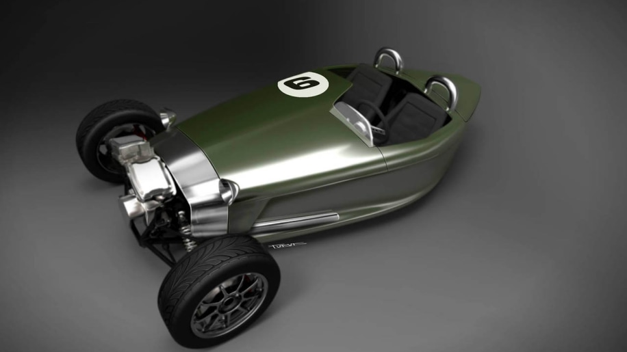 Castle Three crowd-funding retro three-wheeler rival revival [w/video]