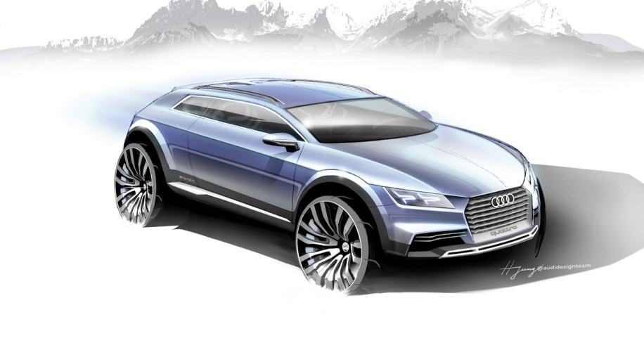 Audi renders crossover concept for Detroit, is it the Q1?