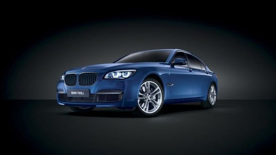 Special Edition BMW 760Li V12 M Bi Turbo Headed For MIddle East