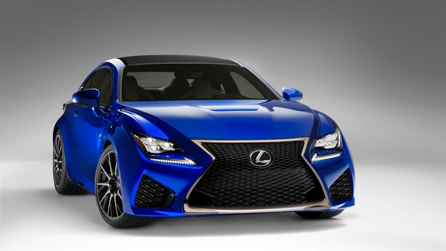 Lexus asks fans to help name new orange shade for RC F