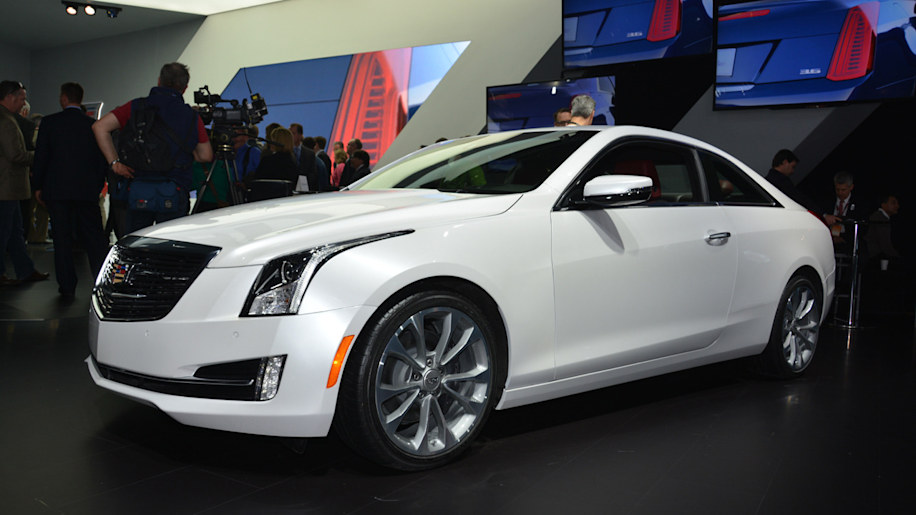 2015 Cadillac ATS Coupe prepares to fight BMW 4 Series - Autoblog