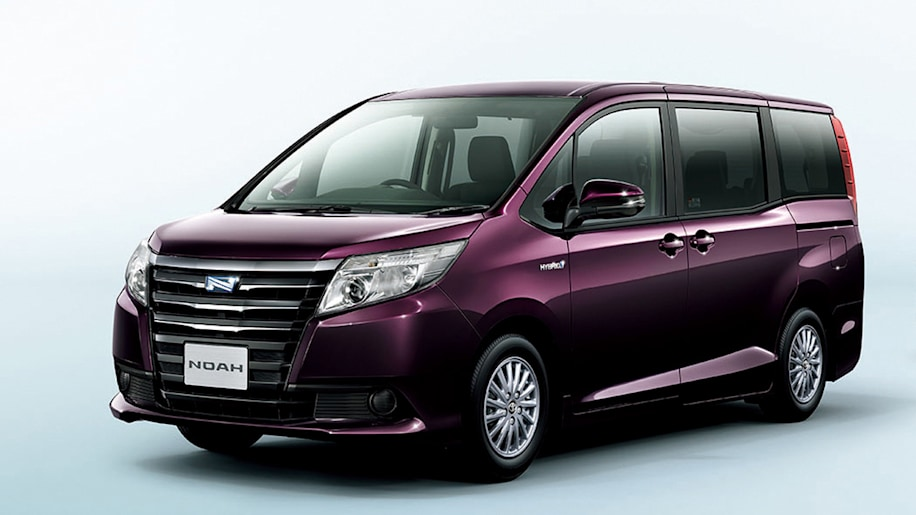 Toyota Launches New Noah Voxy Minivans In Japan W Videos