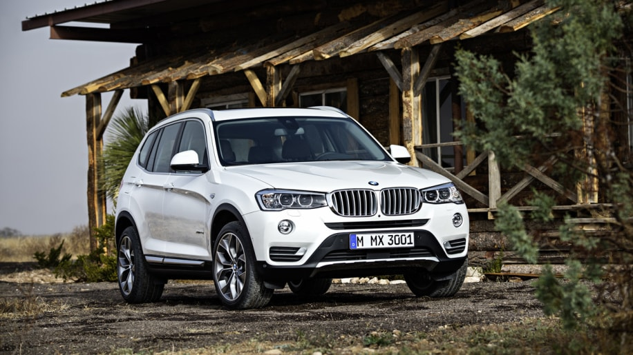 2015 BMW X3 arrives with tweaked styling, diesel option