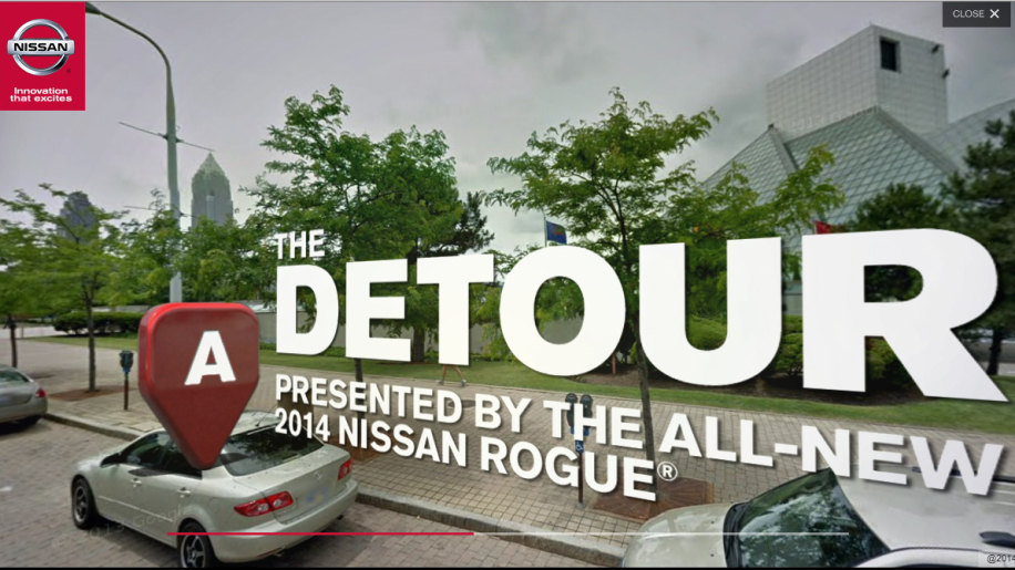 Nissan Rogue Detour uses Google Maps to go create virtual test drive from your doorstep