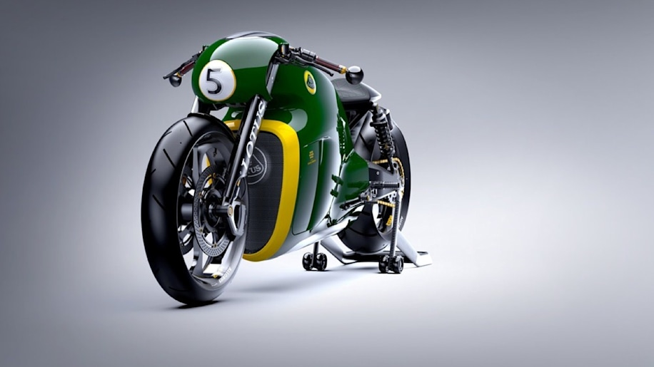Lotus Motorcycles C-01 now 'ready for the road'