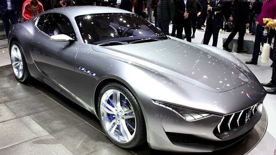 Maserati Alfieri Concept Draws From The Brand S Past Looks To Its