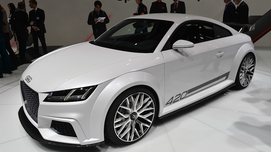 Audi TT Quattro Sport Concept takes the nextgen to the extreme