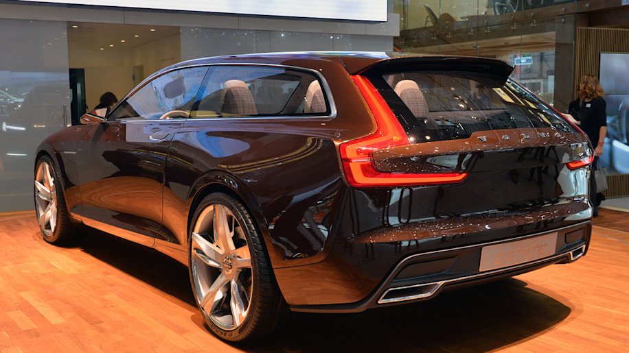 Volvo Concept Estate to spawn V90 luxury wagon, joining CUV and coupe