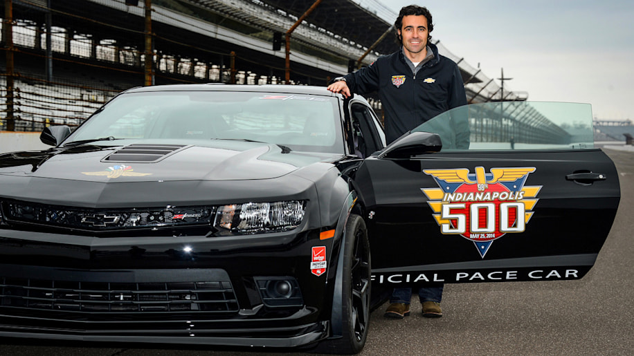 Dario Franchitti to drive Camaro Z/28 pace car at Indy [w/video]