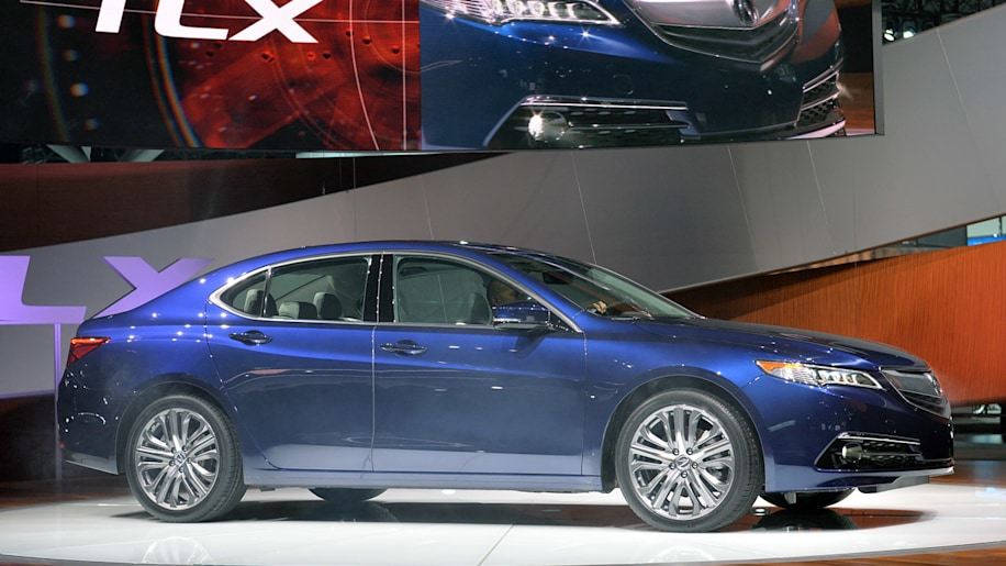 Acura TLX Is All Too Familiar Despite Its New Tricks W - 2015 acura tlx mpg
