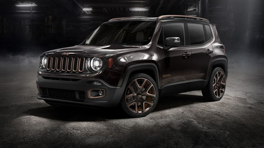Jeep does Renegade Chinese-style with Zi You Xia design concept