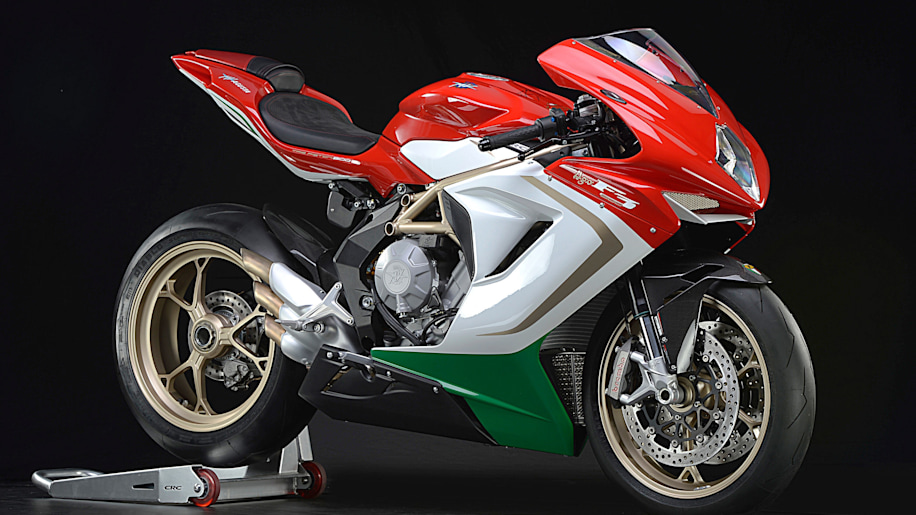 MV Agusta F3 800 AGO to be personally signed by Giacomo Agostini