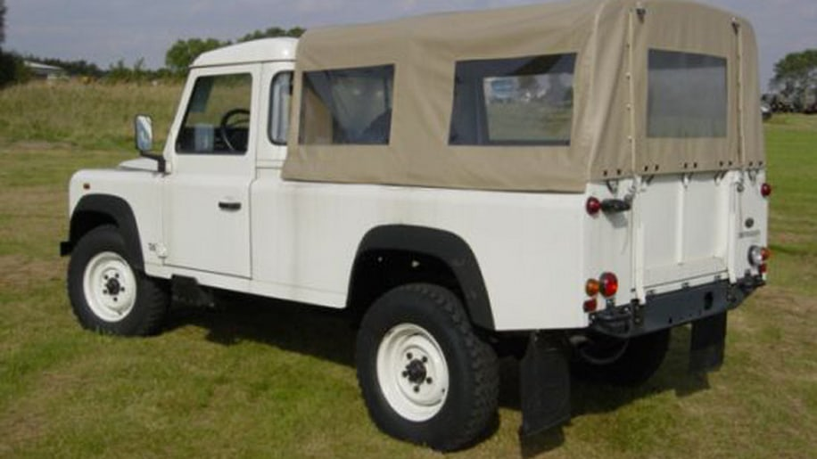 Start your private army with 43 Land Rover Defenders